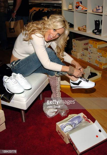 Jenny McCarthy at Fred Segal during 2005 Park City Fred Segal Boutique at Village at the Lift at Village at the Lift in Park City Utah United States