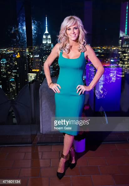 Jenny McCarthy attends 2015 Mother's Day celebration to benefit dress for success at The Weather Room at the Top of the Rock on April 29 2015 in New...
