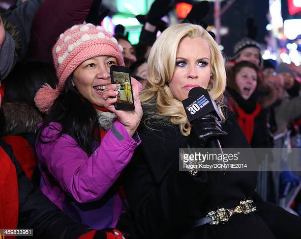Jenny McCarthy attends Dick Clark's New Year's Rockin' Eve with Ryan Seacrest 2014 on December 31 2013 in New York New York