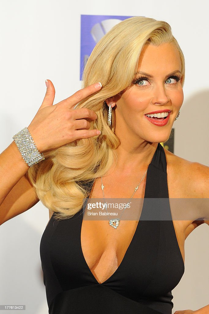 <a gi-track='captionPersonalityLinkClicked' href=/galleries/search?phrase=Jenny+McCarthy&family=editorial&specificpeople=202900 ng-click='$event.stopPropagation()'>Jenny McCarthy</a> attends the Dancing with the Stars Charity event posing with jewelry by Lester Lampert on August 24, 2013 at Hotel Baker in St Charles, Illinois.