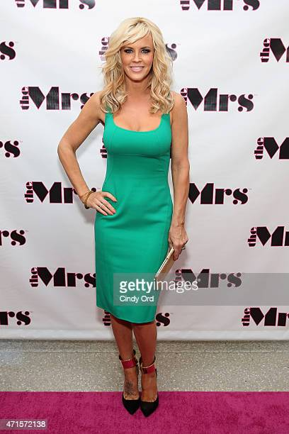 Jenny McCarthy attends the Mrs Jenny McCarthy's Mother's Day Celebration on April 29 2015 in New York City