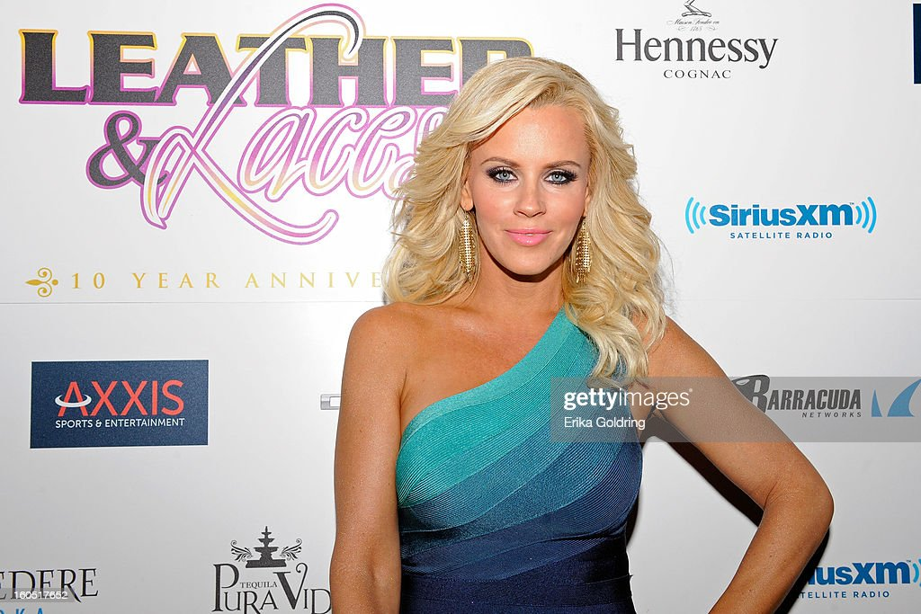 Jenny McCarthy attends the Tenth Annual Leather & Laces Super Bowl Party on February 1, 2013 in New Orleans, Louisiana.