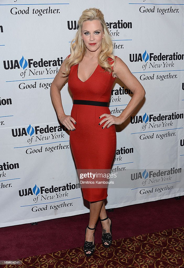 <a gi-track='captionPersonalityLinkClicked' href=/galleries/search?phrase=Jenny+McCarthy&family=editorial&specificpeople=202900 ng-click='$event.stopPropagation()'>Jenny McCarthy</a> attends the UJA-Federation Of New York Entertainment, Media And Communications Leadership Awards Dinner at Pier Sixty at Chelsea Piers on May 28, 2013 in New York City.