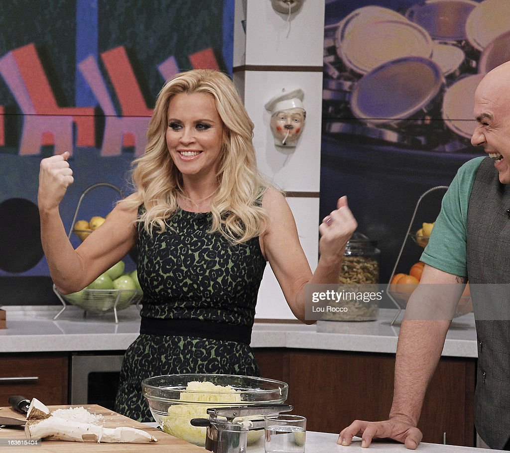 THE CHEW - Jenny McCarthy celebrates St. Patrick's Day with the co-hosts on 'The Chew,' Friday, March 15, 2013. 'The Chew' airs MONDAY - FRIDAY (1-2pm, ET) on the ABC Television Network. SYMON