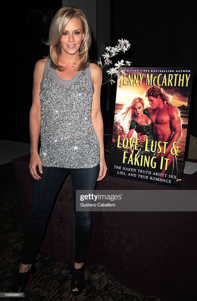 McCarthy discusses 'Love, Lust & Faking It: The Naked Truth About Sex ...: http://gettyimages.co.uk/detail/news-photo/jenny-mccarthy-discusses-love-lust-faking-it-the-naked-news-photo/105546944