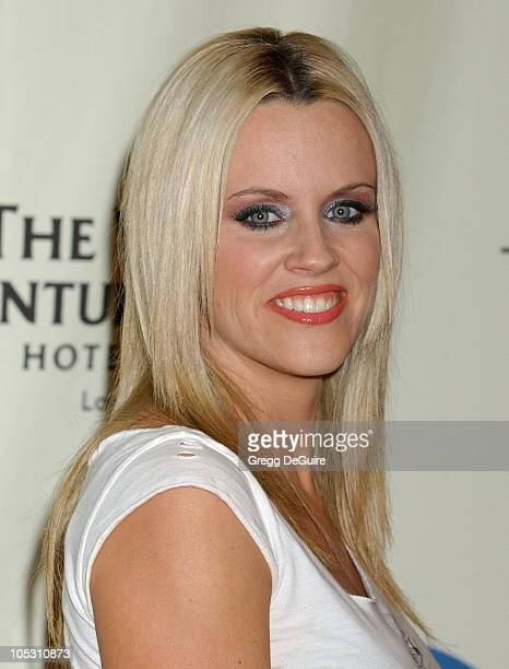Jenny McCarthy during 11th Annual Race To Erase MS Gala Arrivals at The Westin Century Plaza Hotel in Los Angeles California United States