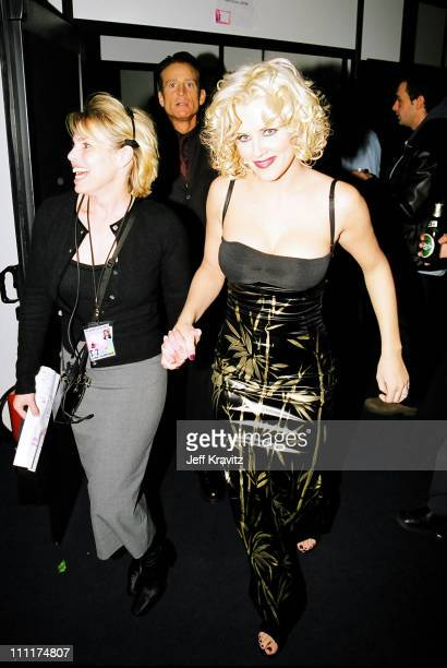 Jenny McCarthy during 1998 MTV European Music Awards in Milan Italy