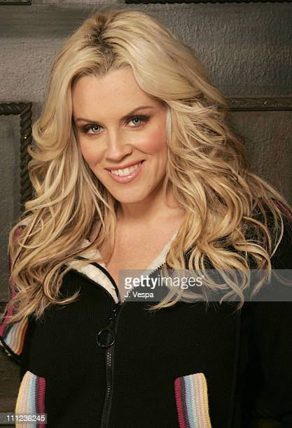 Jenny McCarthy during 2005 Sundance Film Festival 'Dirty Love' Portraits at HP Portait Studio in Park City Utah United States