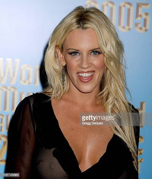 Jenny McCarthy during 2005 World Music Awards Arrivals at Kodak Theatre in Los Angeles CA United States