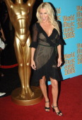 Jenny McCarthy during 2005 World Music Awards Arrivals at Kodak Theater in Hollywood California United States