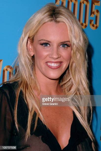 Jenny McCarthy during 2005 World Music Awards Red Carpet at Kodak Theatre in Los Angeles CA United States