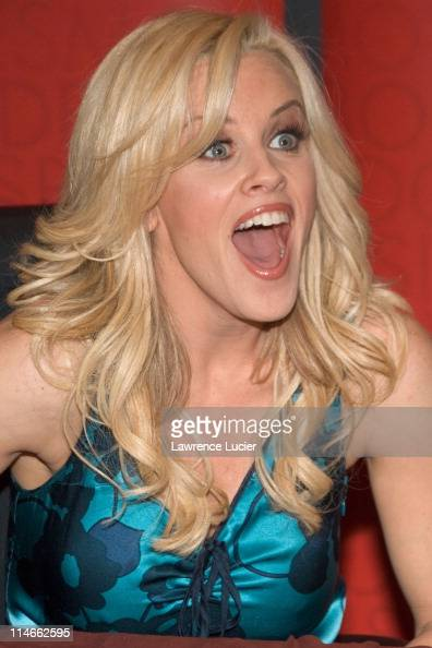 Jenny McCarthy during Jenny McCarthy Signs Copies of Her New Book 'Life Laughs' at Borders in New York April 26 2006 at Borders Books and Music in...