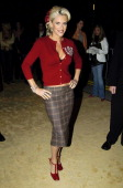 Jenny McCarthy during VH1 Big in '04 Red Carpet at Shrine Auditorium in Los Angeles California United States