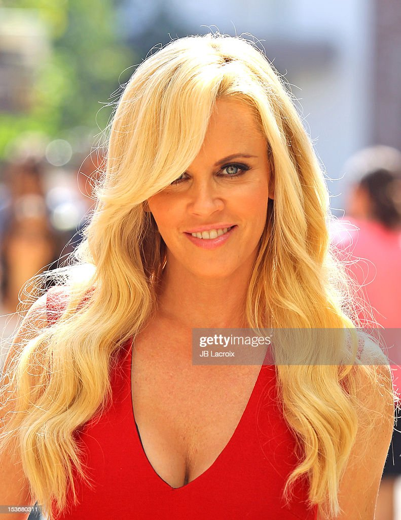Jenny McCarthy is seen at The Grove on October 8, 2012 in Los Angeles, California.
