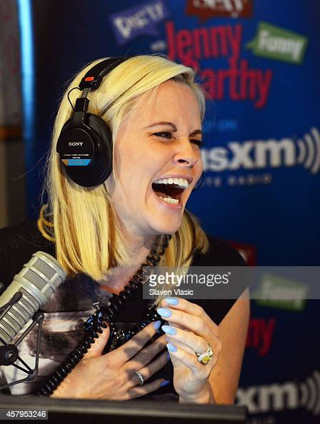Jenny McCarthy launches her new exclusive live daily SiriusXM show 'Dirty Sexy Funny With Jenny McCarthy' at SiriusXM Studios on October 27 2014 in...