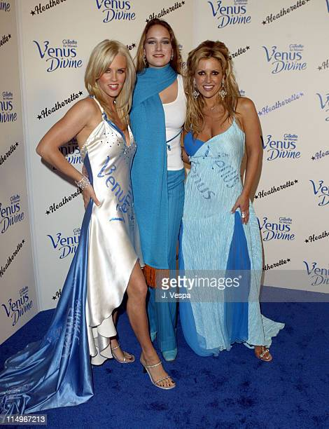 Jenny McCarthy Leelee Sobieski and Jillian Barberie Photo by J Vespa/WireImage for Porter Novelli
