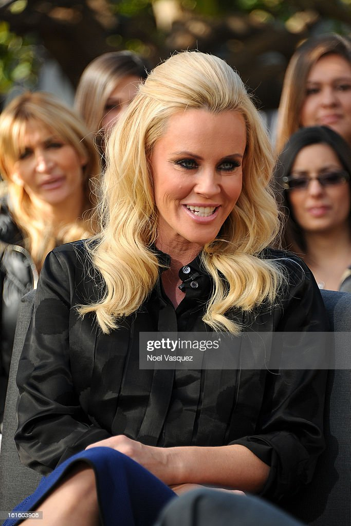 <a gi-track='captionPersonalityLinkClicked' href=/galleries/search?phrase=Jenny+McCarthy&family=editorial&specificpeople=202900 ng-click='$event.stopPropagation()'>Jenny McCarthy</a> visits Extra at The Grove on February 12, 2013 in Los Angeles, California.