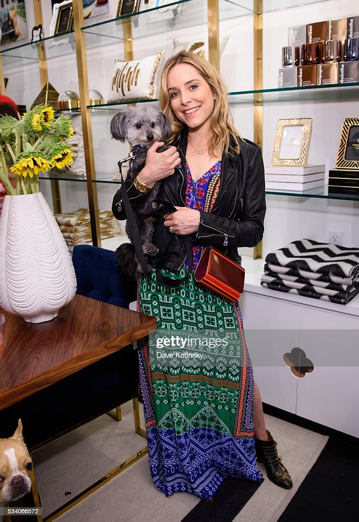 <a gi-track='captionPersonalityLinkClicked' href=/galleries/search?phrase=Jenny+Mollen&family=editorial&specificpeople=599177 ng-click='$event.stopPropagation()'>Jenny Mollen</a> attends the Jonathan Adler Toasts @ToastMeetsWorld At The Launch Of TOASTHAMPTON on May 24, 2016 in New York City.