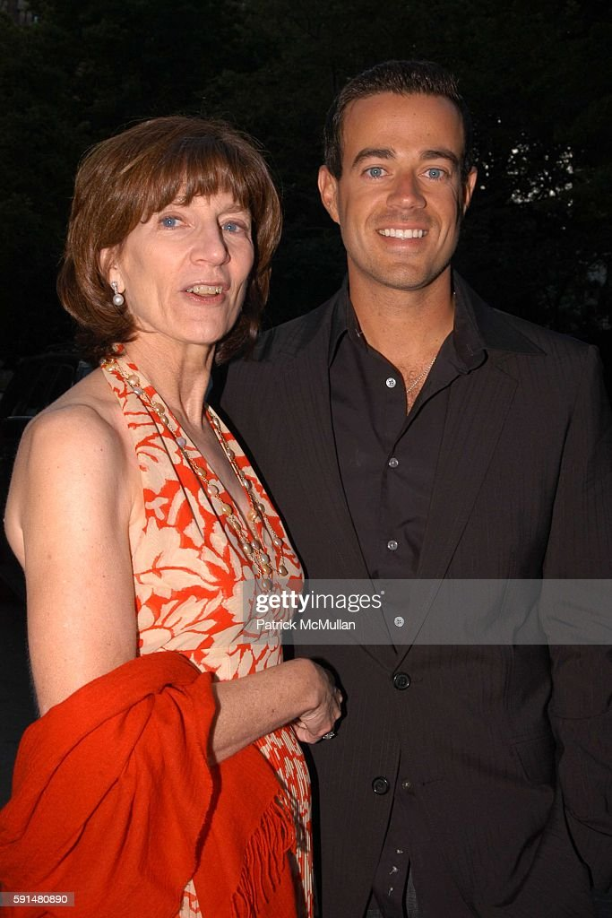 Jenny Morgenthau and Carson Daly attend Fresh Air Fund Salute To American Heroes at Tavern On the Green on June 2 2005 in New York City