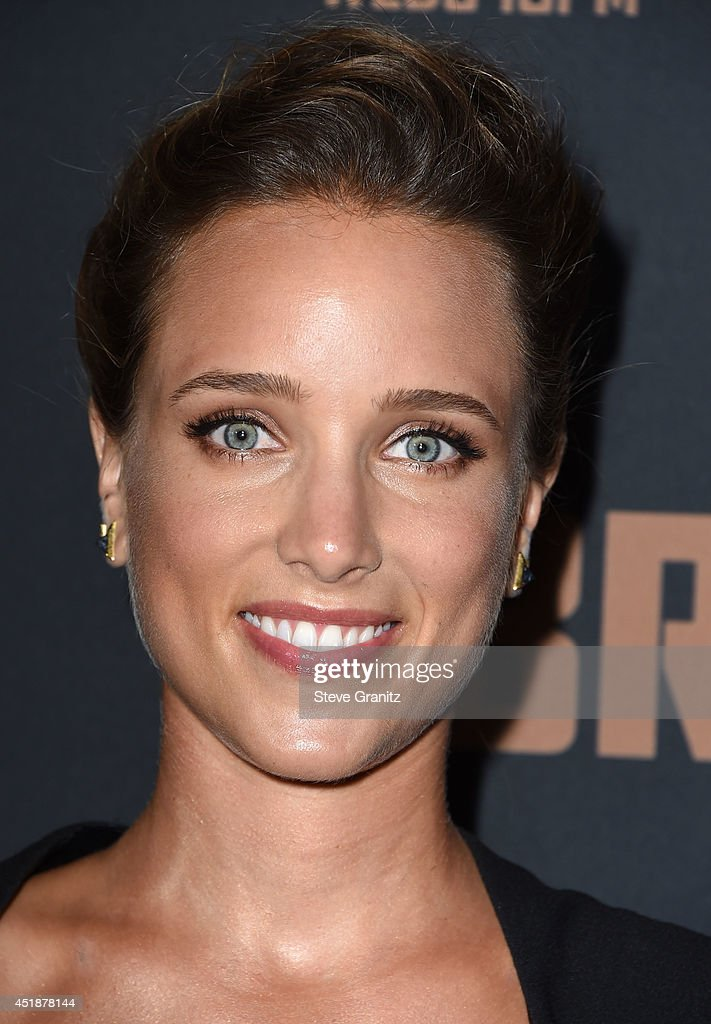Jenny Pellicer arrives at the FX's 'The Bridge' Season 2 Premiere at Pacific Design Center on July 7, 2014 in West Hollywood, California.