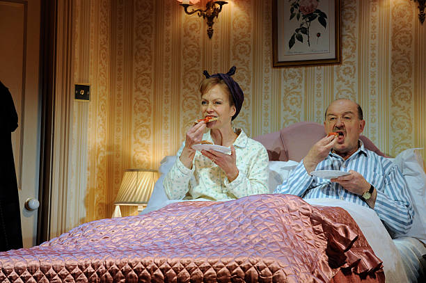 bedroom farce. UK  Bedroom Farce performance in London Pictures Getty Images