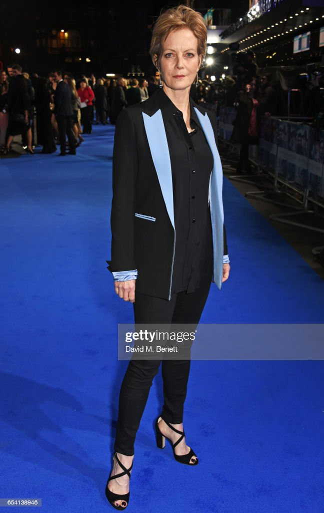 Jenny Seagrove attends the World Premiere of 'Another Mother's Son' on March 16, 2017 in London, England.