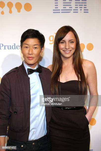Jenny Shimizu and Susi Kenna attend 20th Annual GLAAD MEDIA AWARDS to Honor TYRA BANKS and SUZE ORMAN at Marriott Marquis on March 28 2009 in New...