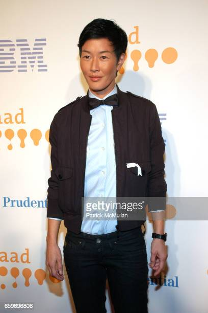 Jenny Shimizu attends 20th Annual GLAAD MEDIA AWARDS to Honor TYRA BANKS and SUZE ORMAN at Marriott Marquis on March 28 2009 in New York City