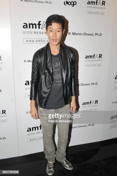 Jenny Shimizu attends AMFAR's Tenth Annual HONORING WITH PRIDE Celebration Hosted by ALAN CUMMING at Edison Ballroom on June 11 2009 in New York