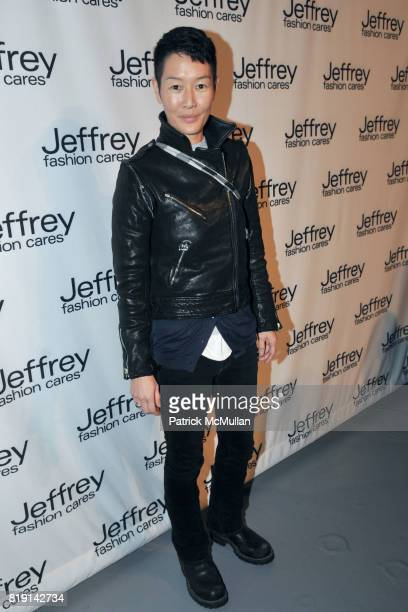 Jenny Shimizu attends JEFFREY FASHION CARES 2010 Benefit at The Intrepid Sea on March 22 2010 in New York City