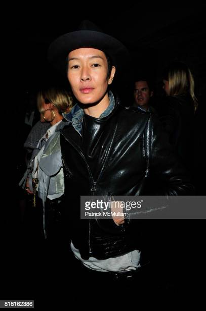 Jenny Shimizu attends naagcom Launch Party at Mary Queen of Scots NYC on November 1 2010 in New York City