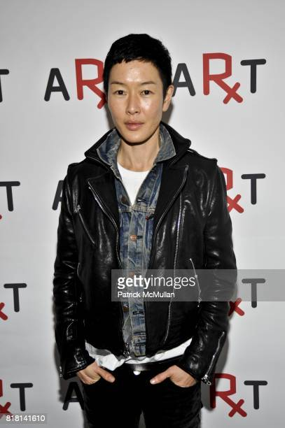 Jenny Shimizu attends RxArt Celebrates 10 Years of Bringing Contemporary Art to Hospitals at The Art Directors Club on November 15 2010 in New York...