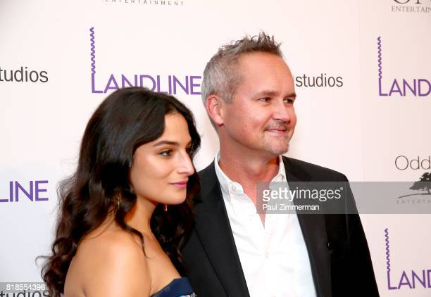 Jenny Slate and Vice President Amazon Studios Roy Price attend 'Landline' New York Premiere at The Metrograph on July 18 2017 in New York City