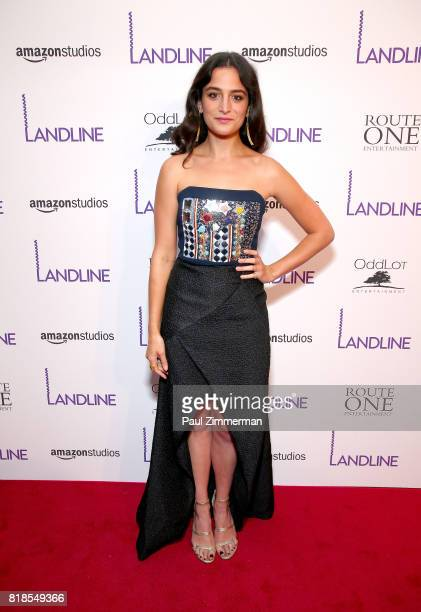 Jenny Slate attends 'Landline' New York premiere at The Metrograph on July 18 2017 in New York City