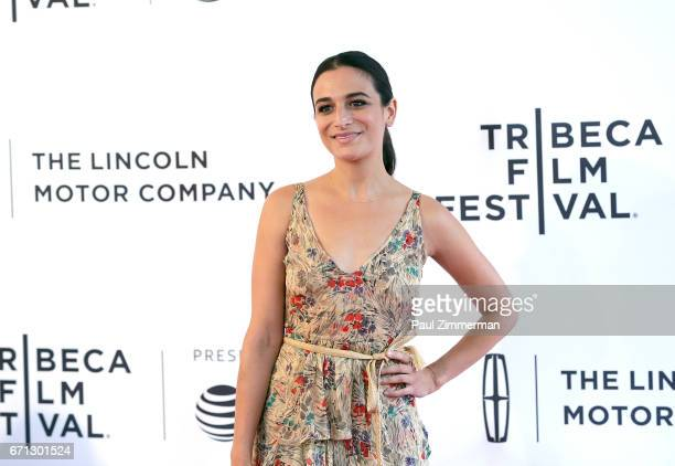 Jenny Slate attends the 2017 Tribeca Film Festival 'Aardvark' at SVA Theatre on April 21 2017 in New York City