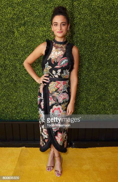 Jenny Slate attends the Premiere Of Universal Pictures And Illumination Entertainment's 'Despicable Me 3' at The Shrine Auditorium on June 24 2017 in...