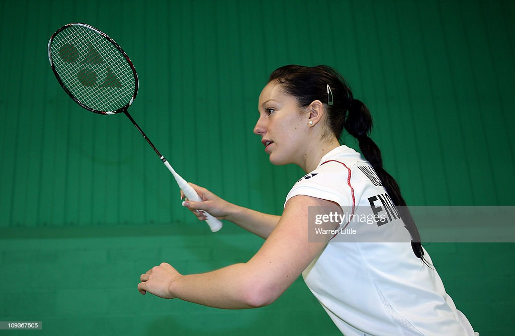 Jenny Wallwork of the England Badminton squad poses for a picture at the National Badminton Centre on February 23, 2011 in Milton Keynes, England.