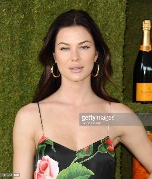 Jenny Watwood attends the 8th annual Veuve Clicquot Polo Classic at Will Rogers State Historic Park on October 14 2017 in Pacific Palisades California
