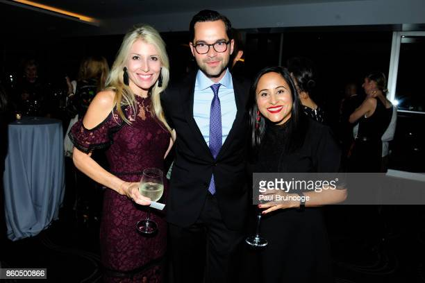 Jenny Wolfe Bennett Leifert and Vee Desai attend the Decoration and Design Building celebrates the 2017 winners of the DDB's 10th Anniversary of...