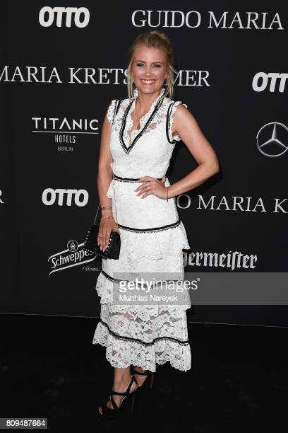 Jennyfer Knaeble attends the Guido Maria Kretschmer Fashion Show Autumn/Winter 2017 at Tempodrom on July 5 2017 in Berlin Germany