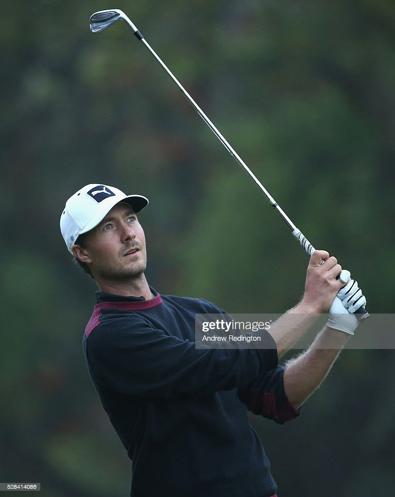 Jens Fahrbring of Sweden in action during the first round of the Trophee Hassan II at Royal Golf Dar Es Salam on May 5, 2016 in Rabat, Morocco.