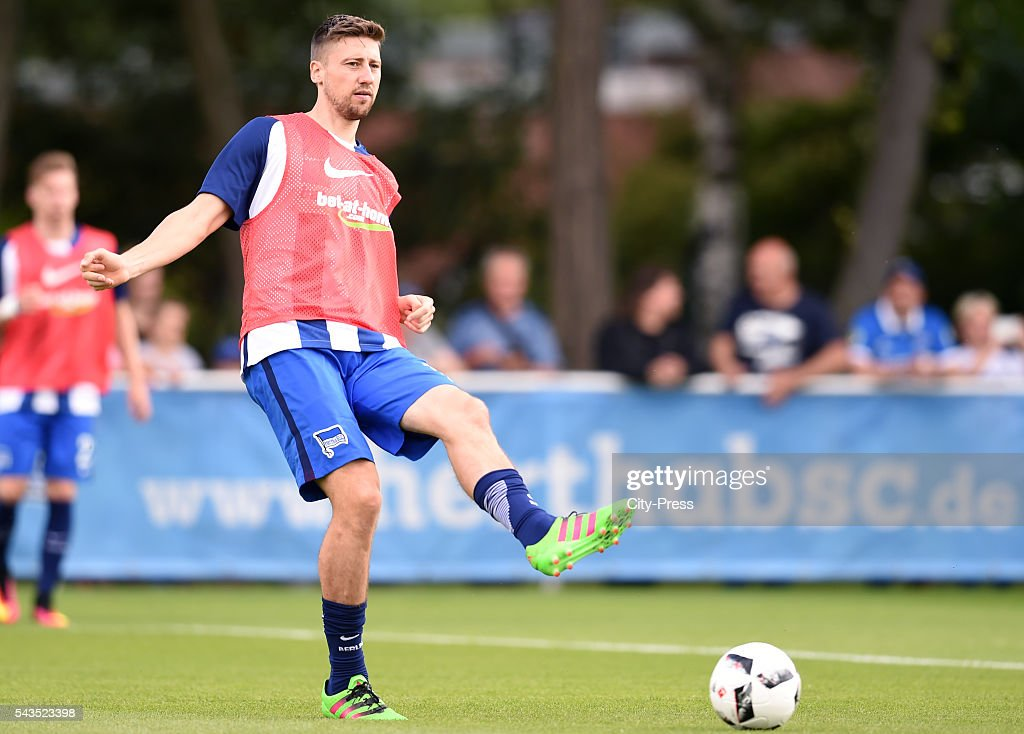 Jens Hegeler of Hertha BSC during the training on june 29, 2016 in Berlin, Germany.
