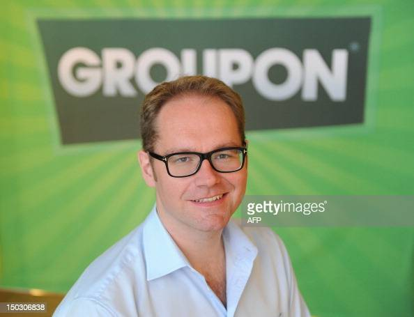 Jens Hutzschenreuter managing director and head of the Central European department of the online shopping deals giant Groupon is pictured on August...