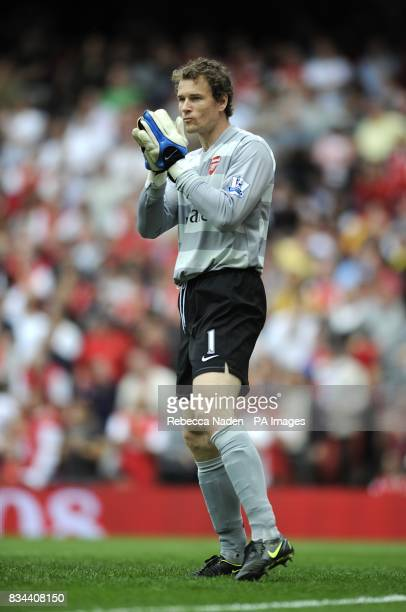 Jens Lehmann Arsenal goalkeeper