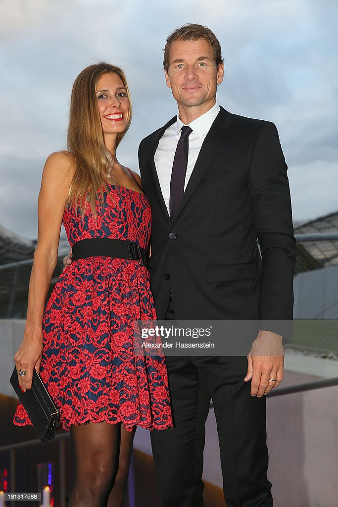 Jens Lehmann attends with Conny Lehmann the Laureus Sport for Good Night 2013 at Munich Olympiahalle on September 20, 2013 in Munich, Germany.