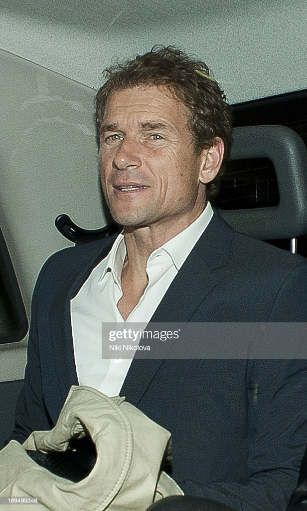 Jens Lehmann sighting at Lulu Restaurant, Mayfair on May 25, 2013 in London, England.
