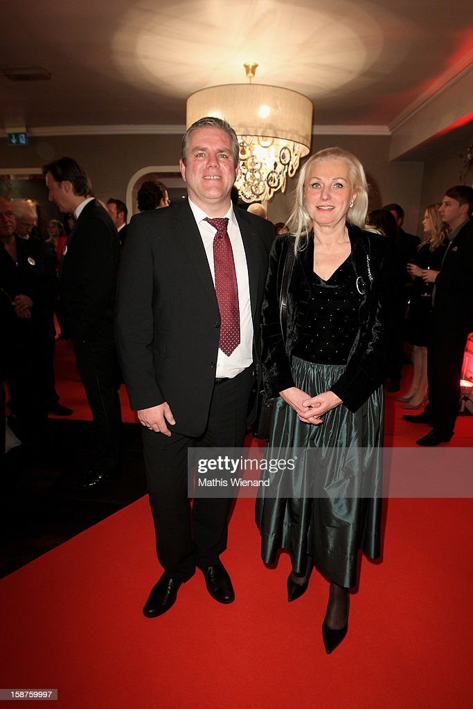 Jens Luedert (Childrencenter Kastanienhof Krefeld) attends the Silver Fox Charity Gala at Hotel van der Falk on December 22, 2012 in Moers, Germany.