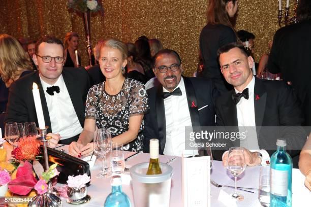 Jens Spahn IKH Princess Mabel von OranienNassau Mabel Wisse Smit widow of Prince Johan Friso von OranienNassau Michel Sidibe Unaids Executive...