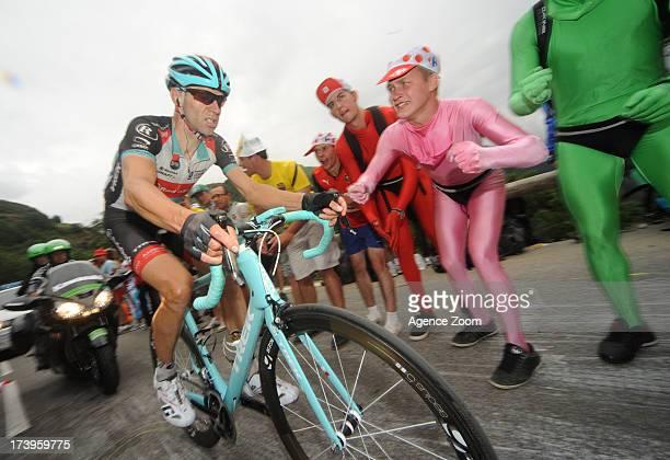 Jens Voigt of Team Radioshack Leopard during Stage 18 of the Tour de France on July 18 Gap to Alped'Huez France
