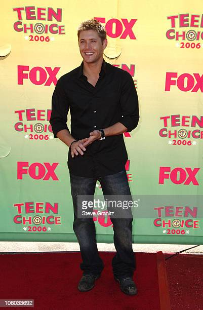 Jensen Ackles during 2006 Teen Choice Awards Arrivals at Gibson Amphitheatre in Universal City California United States
